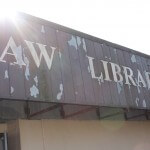 Old Law Library turned into tactical operations scenario
