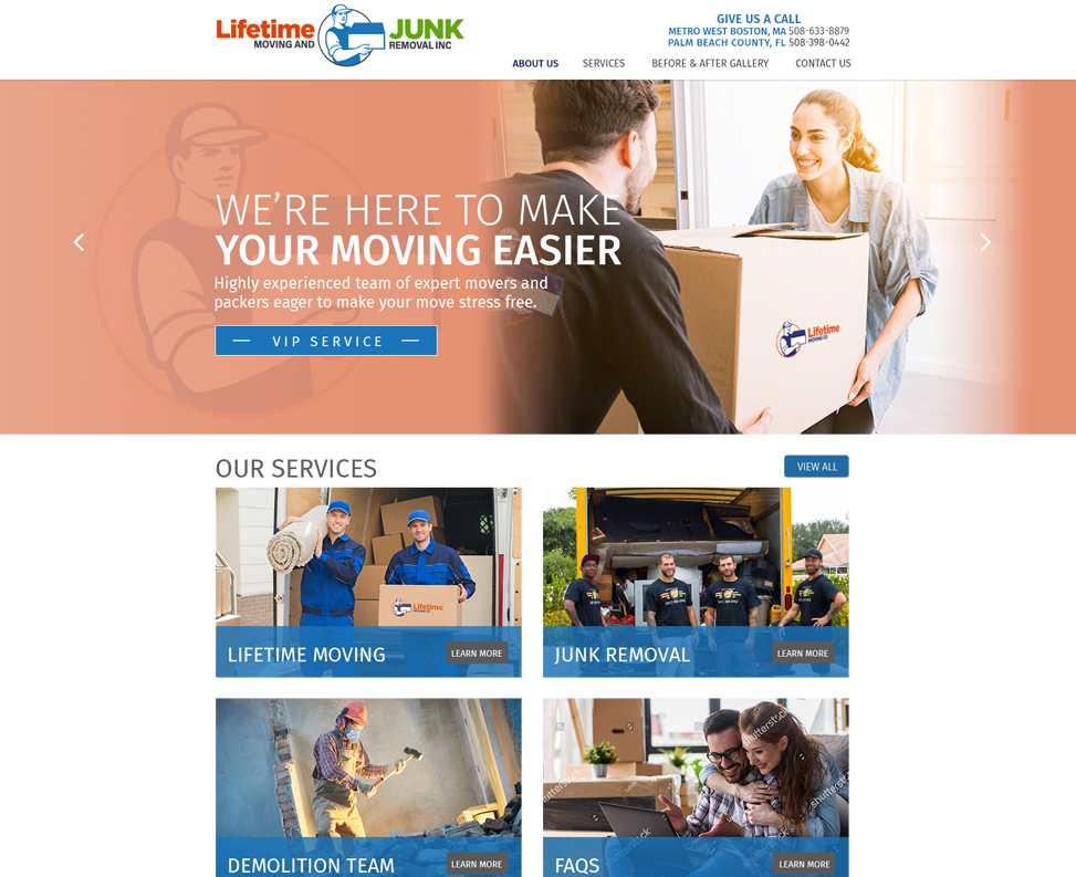 Lifetime Moving And Junk Removal 561 Media
